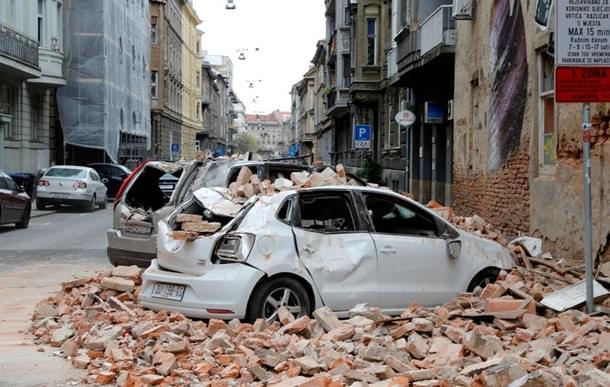 землетрус в хорватії