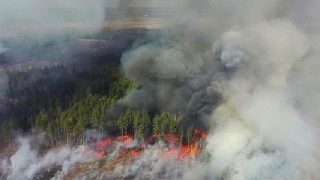 Чорнобиль пожежі