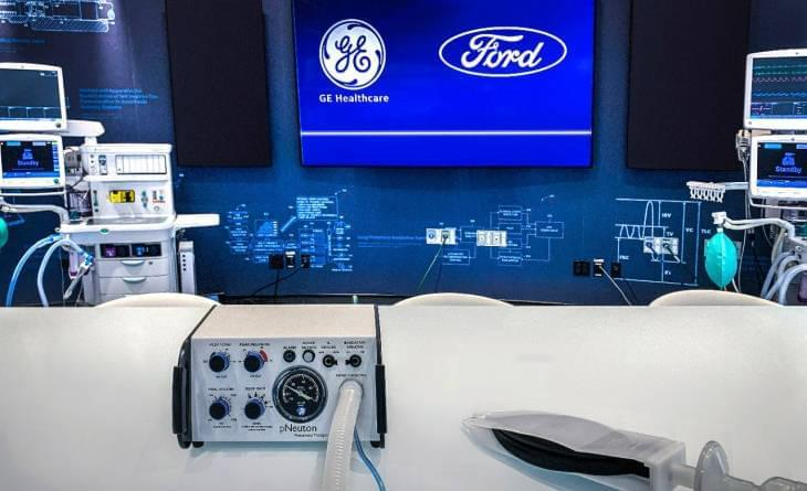 форд изготовит 50 000 аппаратов ИВЛ