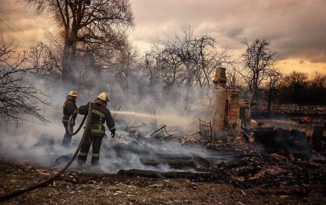 Пожар в Житомирской области