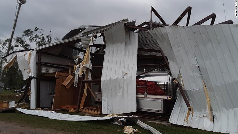 торнадо в штаті Міссісіпі