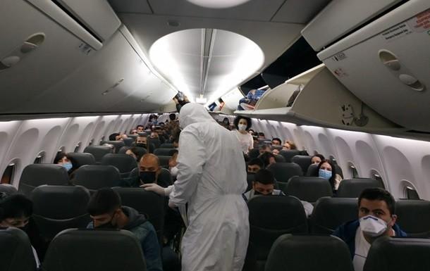 евакуація із Китаю