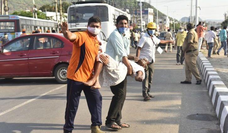 Индия утечка газа