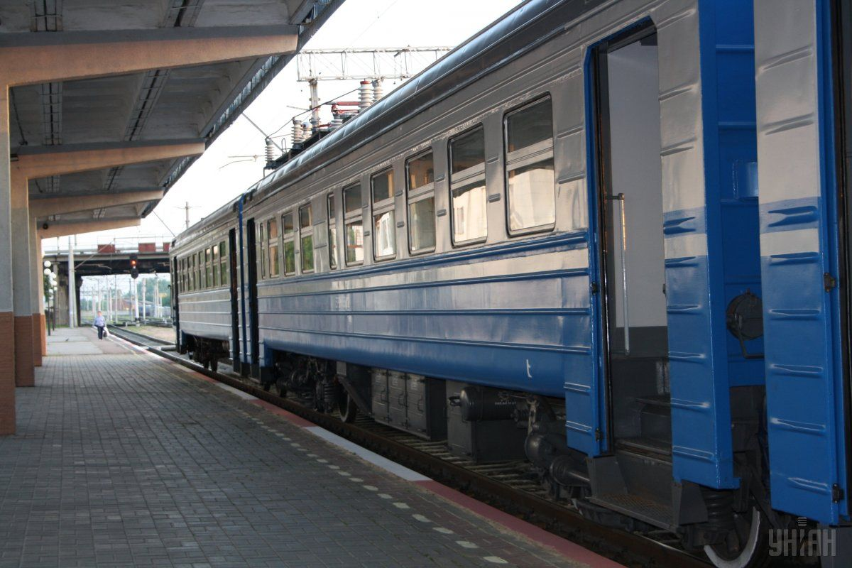 пригородные электрички Украины