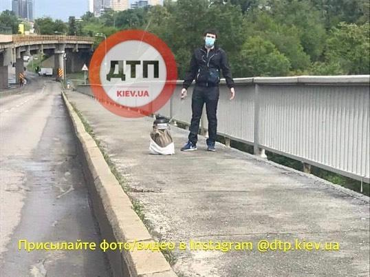 угрожают подорвать мост Метро