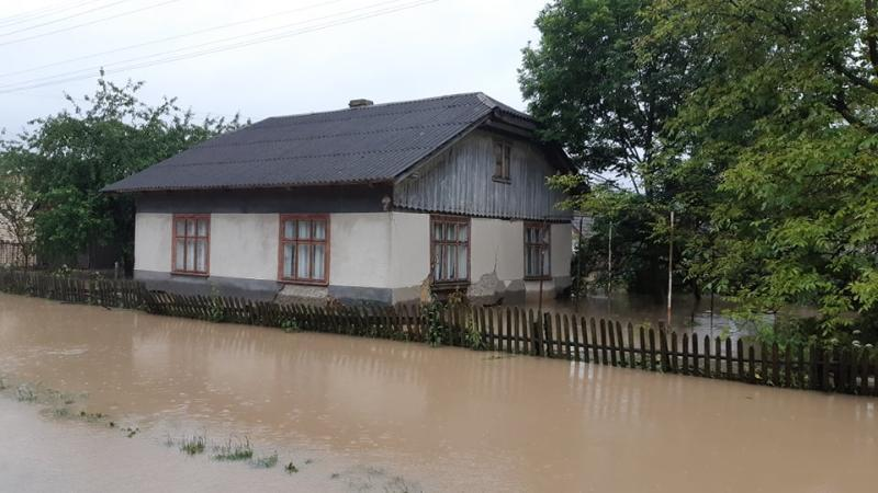 паводки на Западной Украине