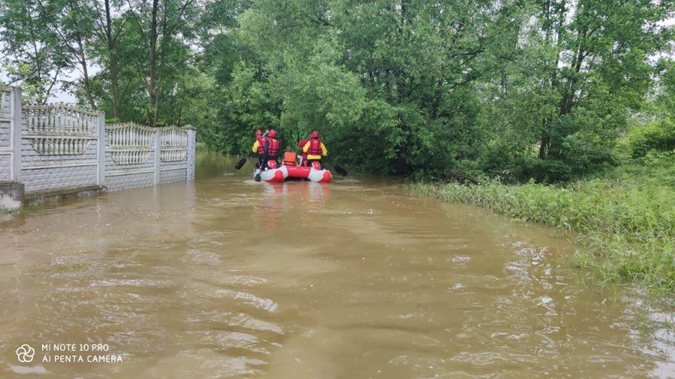 фото паводков на Западной Украине