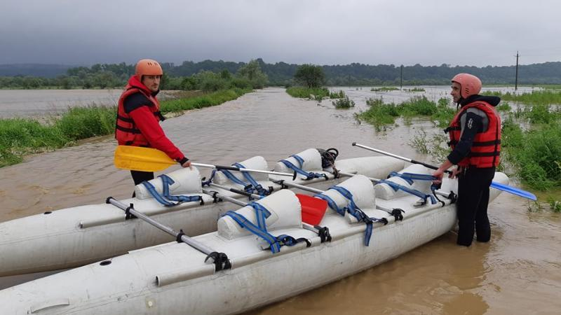 паводки в западных областях Украины, фото