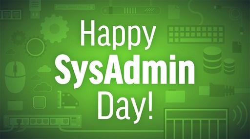 Привітання з Днем системного адміністратора 2020