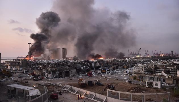 Взрыв в Бейруте: фото