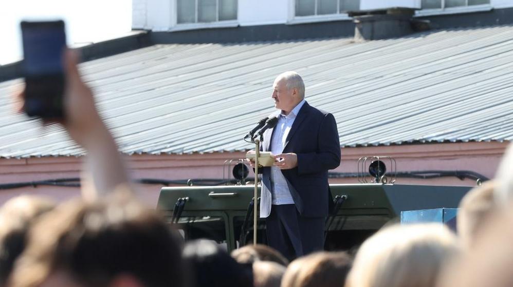 Лукашенко: перевыборы в Беларуси
