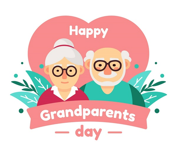 Привітання з Днем бабусь і дідусів картинки та листівки